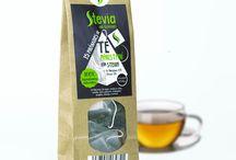 Té, Infusiones con stevia