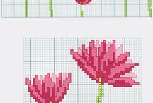 Vyšívane kytky