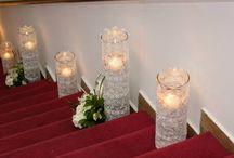 decoración de matrimonio