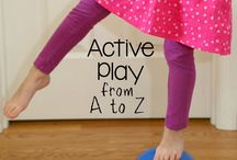 Keeping Kids Active / Ideas and suggestions to keep kids moving!