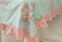 Shabby chic tableclothes