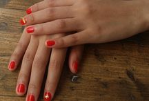 Nail Crew UK Oh, just a pretty little red with gold accents.  Classy - just like our lovely clients