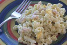 shrimp mac. salad