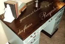My reLoved Furniture / My Portfolio of Hand Painted Furniture 
