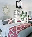 Pink in the master bedroom?