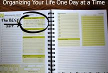 planner ideas / by Sherry Harvell Bunger