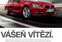 BMW kampaně / Ukázky reklamních kampaní BMW. / by BMW Česká republika