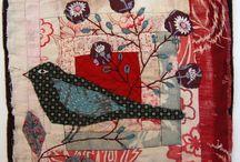 oiseau tissu