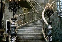 Escaleras y lugares