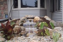 Picture Perfect Pondless Waterfalls We Have Created / Here are some of our favorite Pondless Waterfalls that we have created in Western Massachusetts and Northern Connecticut (and beyond)