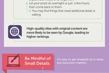 Infographics / useful facts & figures or practical tips and how-to guides