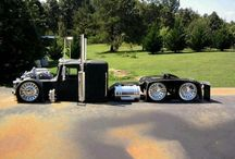 custom big rigs / by Leonard Donaldson