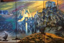 Benson Artworks 5 / Paintings