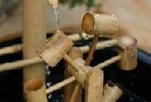 pancuran dari bambu