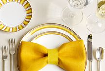 Wedding colour scheme: yellow / A selection of photos from weddings with yellow details