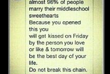 Middle school sweethearts