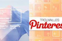 Trouvailles Pinterest: Couleurs Pantone