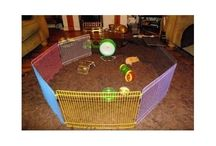 Pets Safe Enclosure Fence Hamster Mouse Guinea Pig Play Care Indoor Outdoor Runs