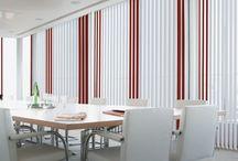 Κάθετες περσίδες / Vertical blinds / Συστήματα σκίασης εσωερικών χώρων με κάθετες περσίδες παραθύρων/ Vertical blinds shading systems for windows