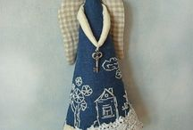 textil figurky