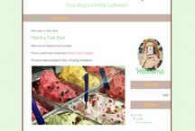 Pre-Made Blogger Templates / For $35 you can purchase a Blogger Template. Best part? You can mix 'n match and change colours. / by Grade ONEderful