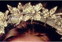 Tiary angielskie - Snowdon Floral Tiara