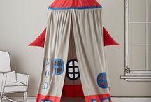 Quarto Infantil - Cabanas / Vários modelos lindos de cabanas que as crianças com certeza vão adorar!
