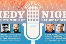 2013 NCFF Live Comedy Show / This year's line up: Natasha Leggero, Kyle Kinane Comedy, Moshe Kasher, Jonathan C. Daly, Brett Gelman and just added Nick Rutherford, hosted by DJ Douggpound