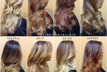Ombre,Sombre and Balayage