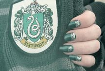 Harry Potter House Nails