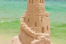 Easy Beach Sand Sculptures