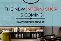 We are coming! / Here we go! •• It's officially started the countdown to find out together the new face of InterniShop.it, the online platform for the high quality Italian forniture.