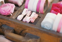 Ribbons, buttons and crafty supplies / by Jessie Jackson