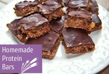 Protein Bar Recipes / Delicious recipes for homemade protein bars made with rice protein and pea protein