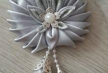 Ribbon things / All crafts from ribbon