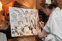 Wedding rome painting