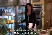 the Rory to my Lorelai / by Ginger G