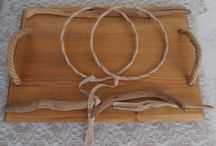 ξύλινοι δίσκοι και στέφανα γάμου... / ξύλινοι δίσκοι και στέφανα γάμου..