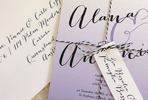 Wedding Invite - Ombré Effect / by Allison Dupuis