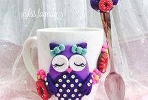 Fimo mugs