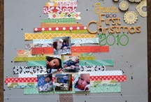 Scrappy Layouts Inspiration / Traditional Scrapbook Layouts that Inspire Me