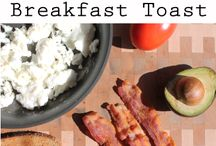 EB Breakfast Toasts / These energizing, low-fat breakfast toasts are the perfect addition to your morning routine.  / by Eggland's Best