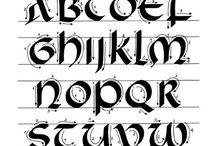 Calligraphy - Uncial/Half-Uncial