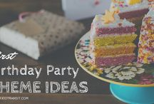 First Birthday Party Theme Ideas