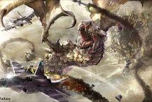Dragons vs planes