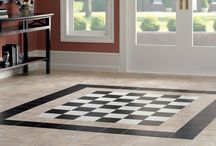 DuraCeramic Luxury Vinyl Tile / Looking for flooring that's both durable and stylish?  Luxury Vinyl Tile is easy to clean and looks great in any type of room.