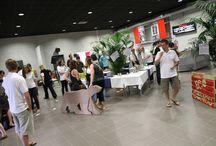 "Recycling Party - Travailassocie / Quand l'agence de communication Travailassocie à Valence organise une ""Recycling Party""... Objectifs ? Récolter, recycler et donner une seconde vie aux objets électroniques #recyclage #recycling #decoration"
