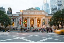 New York City - the iconic Public Library