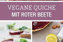 rote beete Quiche