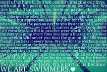 Swimming, my life!
